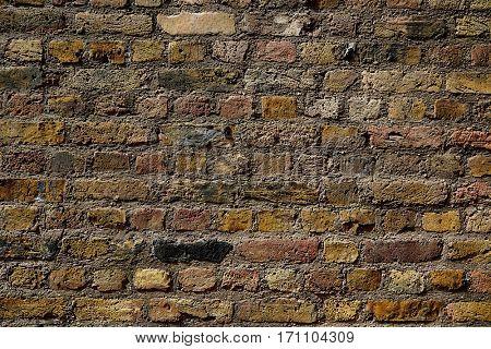 London brickwall brick wall texture in England