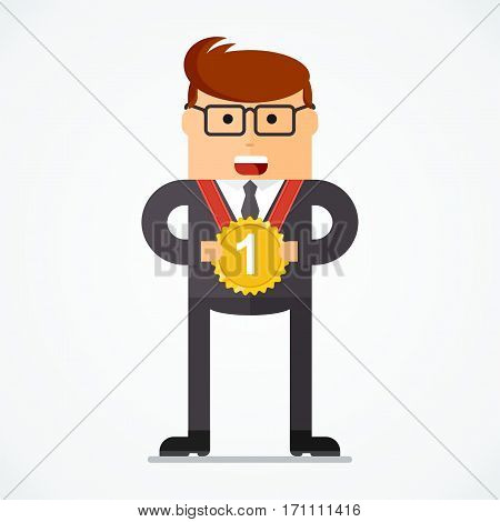 Business Character Medalist