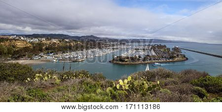 Dana Point Harbor From The Hiking Path