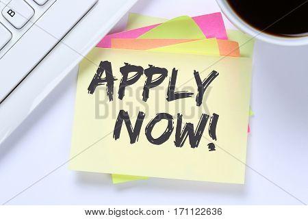 Apply Now Jobs, Job Working Recruitment Employees Business Desk