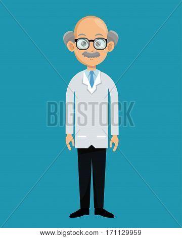 doctor professional healthcare design vector illustration eps 10