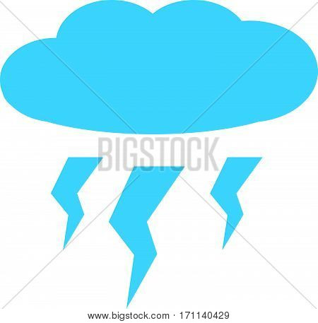 lightening on white background. lightening sign. lightening  symbol.