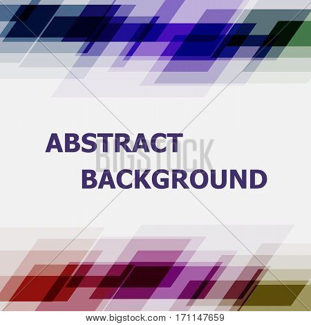 Abstract dark tone geometric overlapping background, stock vector
