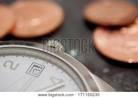 Time Is Money Business Concept for Investing/Banking