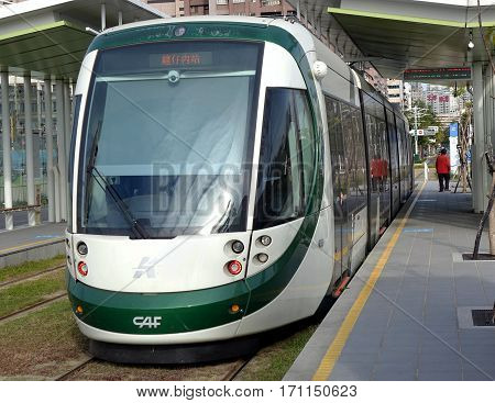 The New Kaohsiung Light Rail Train
