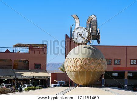 Cinema Monument In Ouarzazate
