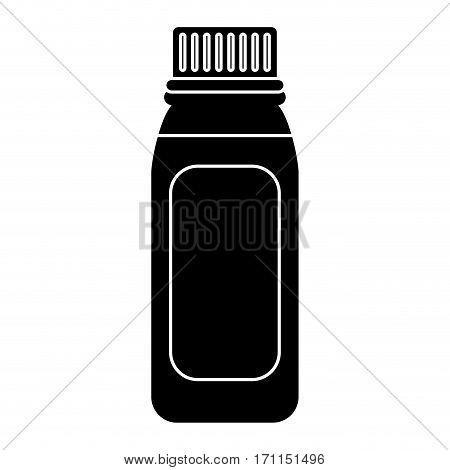 bottle medicine healhy care icon pictogram vector illustration eps 10