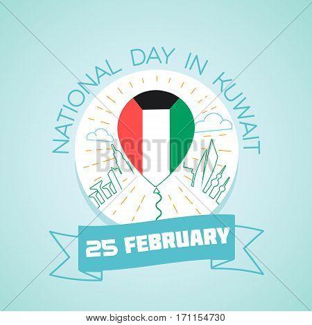 25 February Day In Kuwait