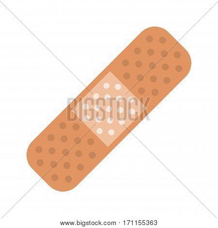 medical plaster bandage adhesive vector illustration eps 10
