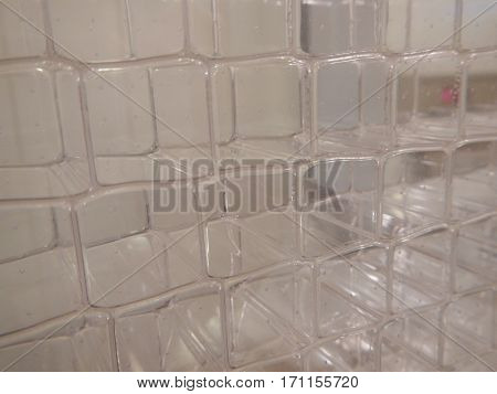 Light Semitransparent Plastic Membrane Texture
