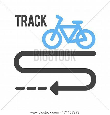 Bicycle, tyre, town icon vector image.Can also be used for town. Suitable for web apps, mobile apps and print media.