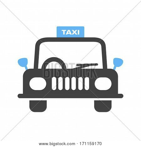 Taxi, cab, city icon vector image.Can also be used for town. Suitable for web apps, mobile apps and print media.