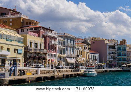05.20.16. Agios Nicolas Crete Beautiful view of Agios Nicolas Crete.