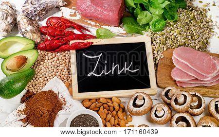 Foods Highest In Zink.