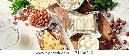Foods Rich In Calcium.