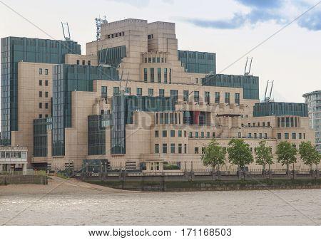 British Secret Service Buidling