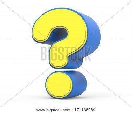 Cute Yellow Question Mark