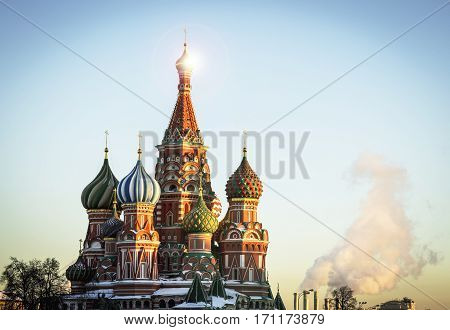 the main Russian orthodox church on the Red Square red orthodox church Russian culture Putin Kremlin and Russian foreign policy.