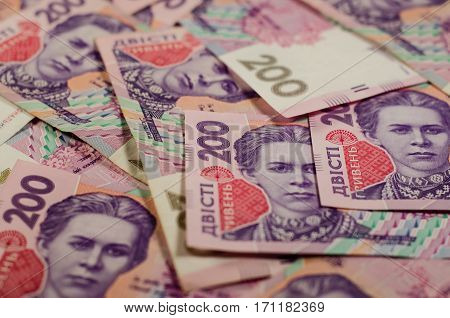 Background Of The Ukrainian Banknotes