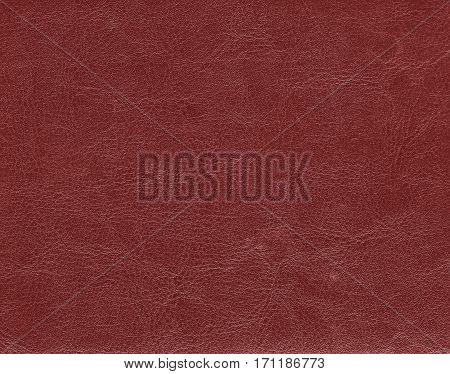 Dark Red Leather Texture.