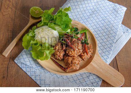 Thai Fried Fish Cake (tod Mun Pla)
