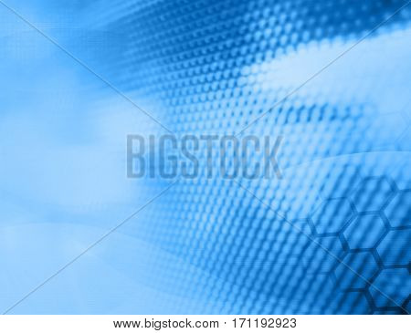 abstract science design with space for text or image