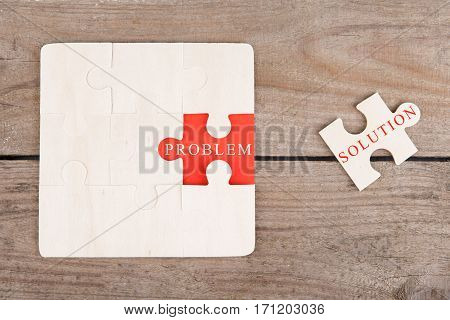 Jigsaw Puzzle Pieces With Words