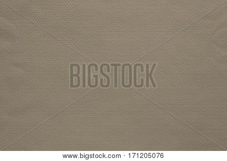 texture and background of fabric or cotton material of beige color
