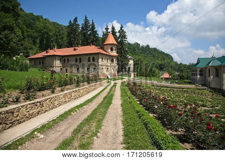 Women's orthodox monastery near Rudi village at the north of Republic of Moldova.