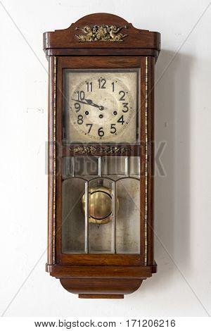 Cuban Old Wall Clock In 'la Periquera' - Holguin, Cuba