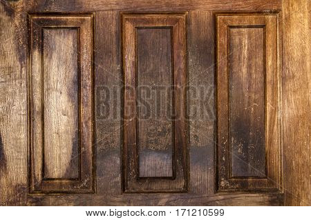 Part of a vintage wooden door background