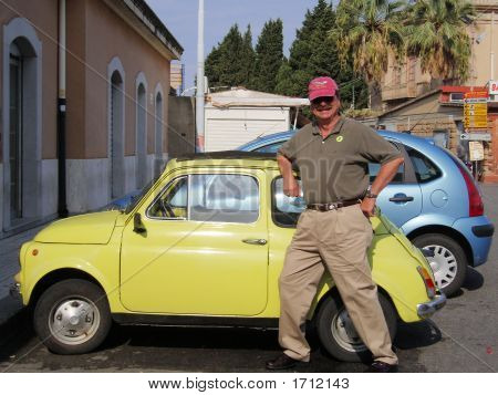 Big Man Little Car1