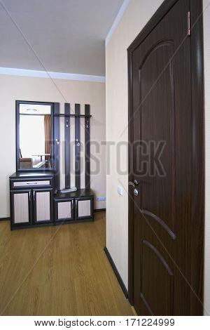 entryway in a hotel