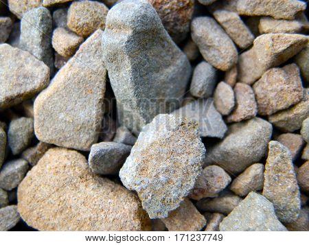 Male kamienky na plazi roznej farby, Litte stone on the beach