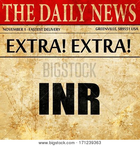 inr, article text in newspaper