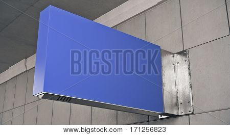 Horizontal Blue Stopper