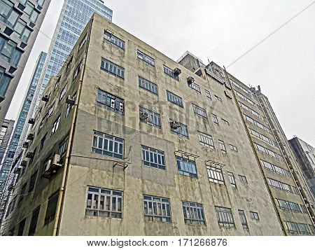 Old warehouse in Kwun Tong (Hong Kong)