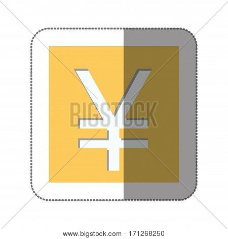 yen currency symbol icon image, vector illustration