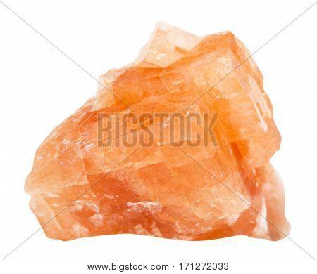 Specimen Of Chabazite Stone Isolated