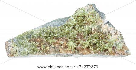 Piece Of Vesuvianite (idocrase, Vesuvian) Rock