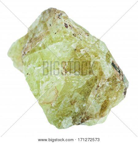 Piece Of Saamit (strontium Apatite) Stone