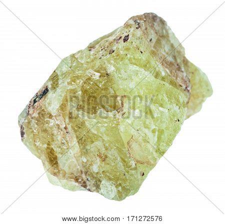 Crystals Of Saamit (strontium Apatite) Stone