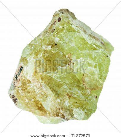 Specimen Of Saamit (strontium Apatite) Stone