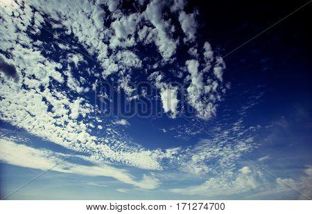 summer landscape beautiful cumulus clouds. Carpathian Ukraine Europe