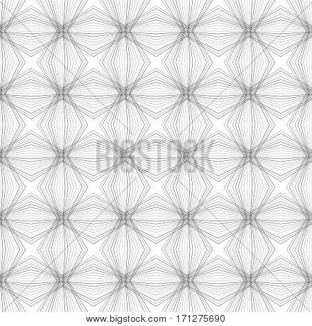 Abstract Seamless Pattern Of A Plurality Of Gray Lines.