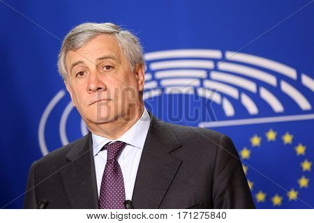 President Of European Parliament Antonio Tajani