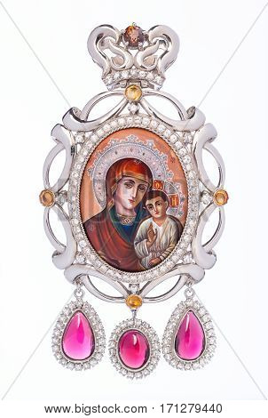 Jewelry in the form of Mother of God