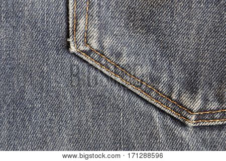 the blue jeans back trousers pocket background