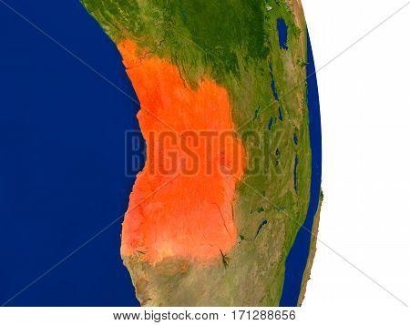 Angola On Earth
