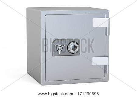 Combination Safe Box 3D rendering isolated on white background